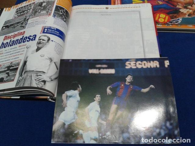 Coleccionismo deportivo: ALBUM MUNDO DEPORTIVO EL SIGLO DEL BARCA 100 AÑOS DE IMAGENES LOS CROMOS SIN PEGAR VER FOTOS - Foto 14 - 115199099