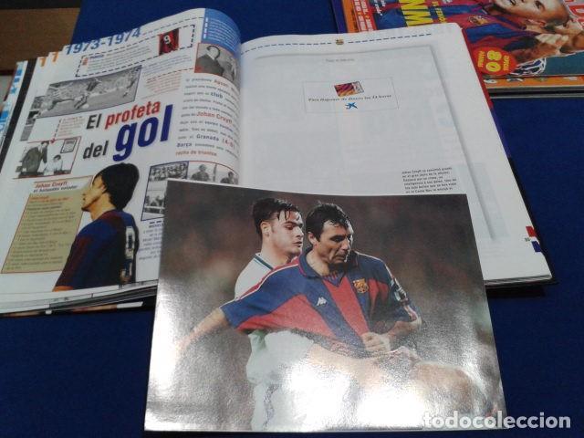 Coleccionismo deportivo: ALBUM MUNDO DEPORTIVO EL SIGLO DEL BARCA 100 AÑOS DE IMAGENES LOS CROMOS SIN PEGAR VER FOTOS - Foto 15 - 115199099