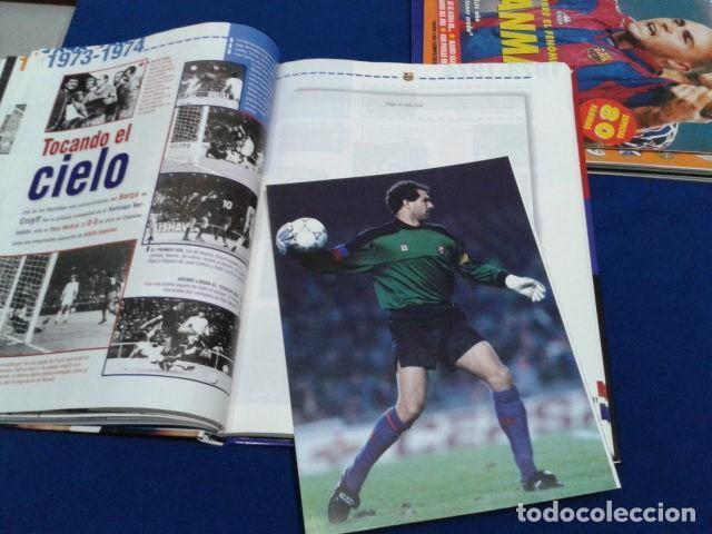Coleccionismo deportivo: ALBUM MUNDO DEPORTIVO EL SIGLO DEL BARCA 100 AÑOS DE IMAGENES LOS CROMOS SIN PEGAR VER FOTOS - Foto 16 - 115199099