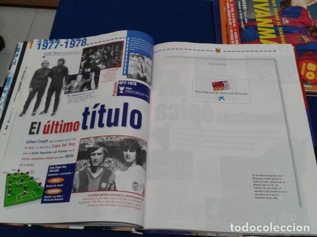 Coleccionismo deportivo: ALBUM MUNDO DEPORTIVO EL SIGLO DEL BARCA 100 AÑOS DE IMAGENES LOS CROMOS SIN PEGAR VER FOTOS - Foto 17 - 115199099