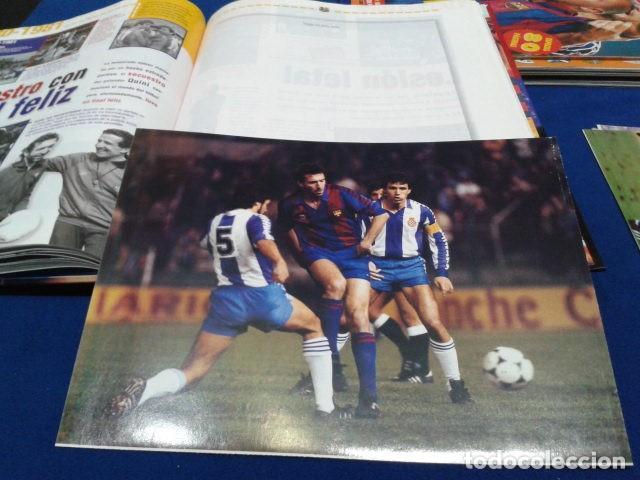 Coleccionismo deportivo: ALBUM MUNDO DEPORTIVO EL SIGLO DEL BARCA 100 AÑOS DE IMAGENES LOS CROMOS SIN PEGAR VER FOTOS - Foto 18 - 115199099