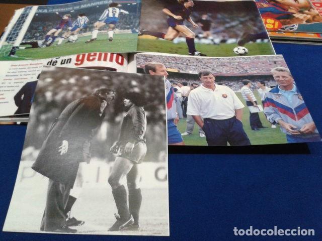 Coleccionismo deportivo: ALBUM MUNDO DEPORTIVO EL SIGLO DEL BARCA 100 AÑOS DE IMAGENES LOS CROMOS SIN PEGAR VER FOTOS - Foto 19 - 115199099