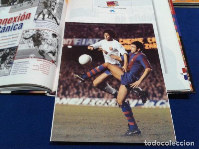 Coleccionismo deportivo: ALBUM MUNDO DEPORTIVO EL SIGLO DEL BARCA 100 AÑOS DE IMAGENES LOS CROMOS SIN PEGAR VER FOTOS - Foto 20 - 115199099