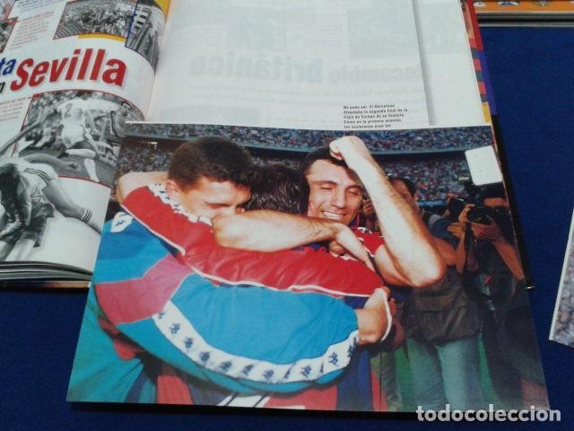Coleccionismo deportivo: ALBUM MUNDO DEPORTIVO EL SIGLO DEL BARCA 100 AÑOS DE IMAGENES LOS CROMOS SIN PEGAR VER FOTOS - Foto 21 - 115199099