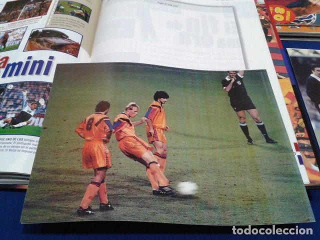 Coleccionismo deportivo: ALBUM MUNDO DEPORTIVO EL SIGLO DEL BARCA 100 AÑOS DE IMAGENES LOS CROMOS SIN PEGAR VER FOTOS - Foto 22 - 115199099