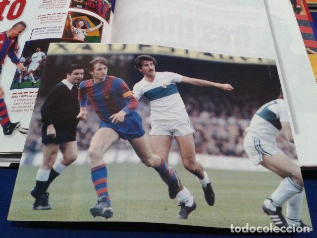 Coleccionismo deportivo: ALBUM MUNDO DEPORTIVO EL SIGLO DEL BARCA 100 AÑOS DE IMAGENES LOS CROMOS SIN PEGAR VER FOTOS - Foto 23 - 115199099