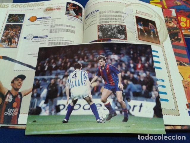 Coleccionismo deportivo: ALBUM MUNDO DEPORTIVO EL SIGLO DEL BARCA 100 AÑOS DE IMAGENES LOS CROMOS SIN PEGAR VER FOTOS - Foto 24 - 115199099