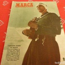 Coleccionismo deportivo: MARCA(13-2-51)ESPAÑA ENTRENA,BILBAO 0 SAARBRUCKEN 4,PLUS ULTRA 0 L.PALMAS 2,CADIZ Y U.D.SAN MARTIN. Lote 115266427