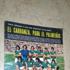 Coleccionismo deportivo: REVISTA AS COLOR N° 172. AÑO 1974. EL ADIÓS DE ZOCO . NO TIENE PÓSTER.. Lote 115371243