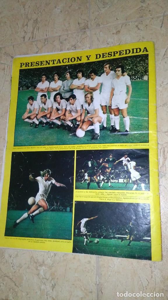 Coleccionismo deportivo: Revista as color n° 172. Año 1974. El adiós de zoco . no tiene póster. - Foto 2 - 115371243