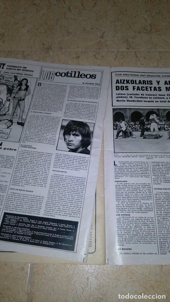Coleccionismo deportivo: Revista as color n° 172. Año 1974. El adiós de zoco . no tiene póster. - Foto 4 - 115371243