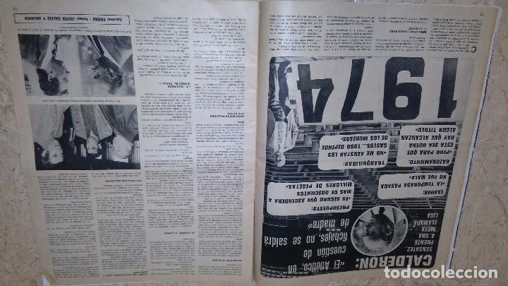 Coleccionismo deportivo: Revista as color n° 172. Año 1974. El adiós de zoco . no tiene póster. - Foto 12 - 115371243