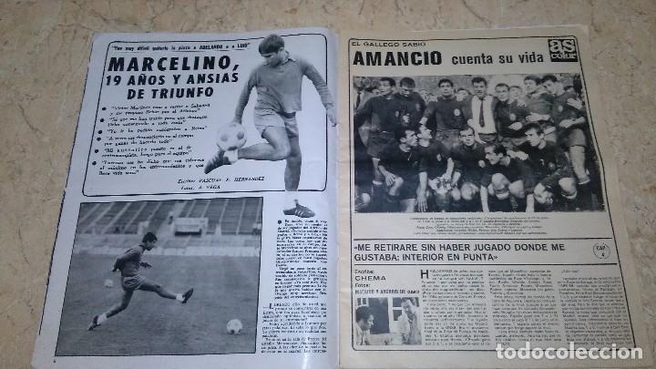 Coleccionismo deportivo: Revista as color n° 172. Año 1974. El adiós de zoco . no tiene póster. - Foto 15 - 115371243