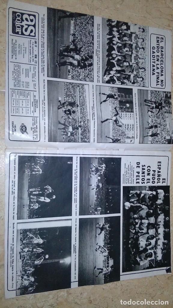 Coleccionismo deportivo: Revista as color n° 172. Año 1974. El adiós de zoco . no tiene póster. - Foto 19 - 115371243