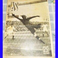 Collectionnisme sportif: REVISTA AS N.º 89 FEB. 1934 ZAMORA SELECCION COPA MUNDO ARENAS MADRID VALENCIA IMAGENES DE LOS EQUIP. Lote 115425695