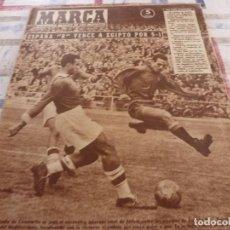 Coleccionismo deportivo: MARCA(29-11-55)IRLANDA 2 ESPAÑA 2,INGLATERRA,ESPAÑA-B 5 EGIPTO 1. Lote 115493643