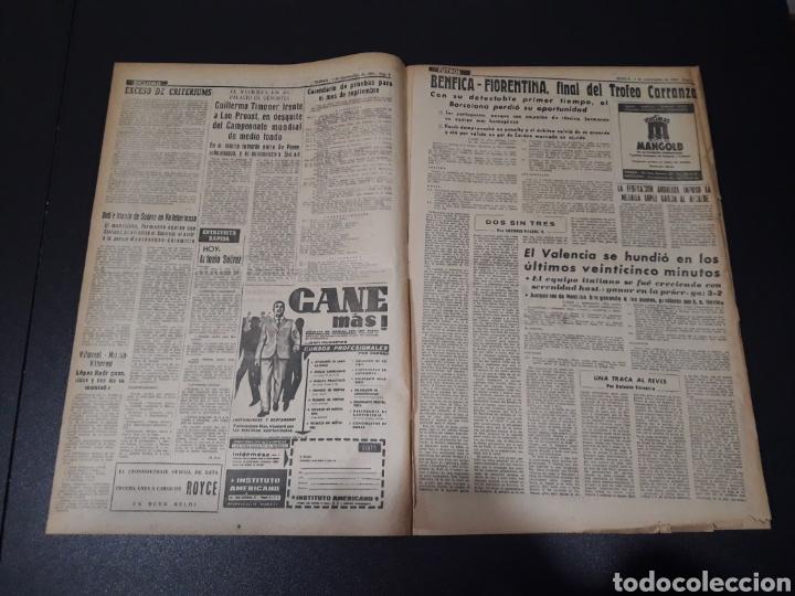 Coleccionismo deportivo: MARCA. 1/09/1963. TROFEO CARRANZA. BENFICA,3 - BARCELONA,2. FIORENTINA,3 - VALENCIA,2. DI STEFANO L - Foto 2 - 115578222