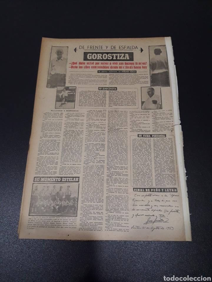 Coleccionismo deportivo: MARCA. 1/09/1963. TROFEO CARRANZA. BENFICA,3 - BARCELONA,2. FIORENTINA,3 - VALENCIA,2. DI STEFANO L - Foto 4 - 115578222