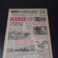 Coleccionismo deportivo: MARCA. 18/11/1963. RESUMEN JORNADA LIGA N° 9.. Lote 115585572
