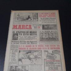 Coleccionismo deportivo: MARCA. 9/12/1963. RESUMEN JORNADA LIGA N° 11.. Lote 115588446
