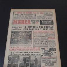 Coleccionismo deportivo: MARCA. 23/12/1963. RESUMEN JORNADA LIGA N° 13.. Lote 115646138