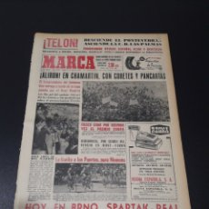 Coleccionismo deportivo: MARCA. 27/04/1964. ¡ ALIRON ! EN CHAMARTIN. FINAL LIGA.. Lote 115701802
