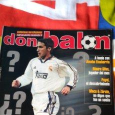 Coleccionismo deportivo: DON BALON NÚMERO 1273 RAÚL, BAYER, OVIEDO, DONATO.... Lote 115713832