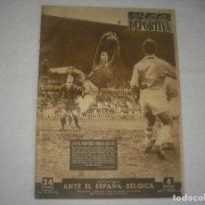 Coleccionismo deportivo: VIDA DEPORTIVA N° 392 , MARZO 1953 , EN PORTADA PAZOS EL PORTERO DEL CELTA. Lote 115768715