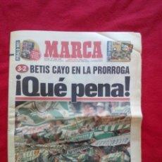 Coleccionismo deportivo: TUBAL FUTBOL REAL BETIS MARCA 29 JUNIO 1997 FINAL COPA DEL REY FC BARCELONA BETIS. Lote 115799099