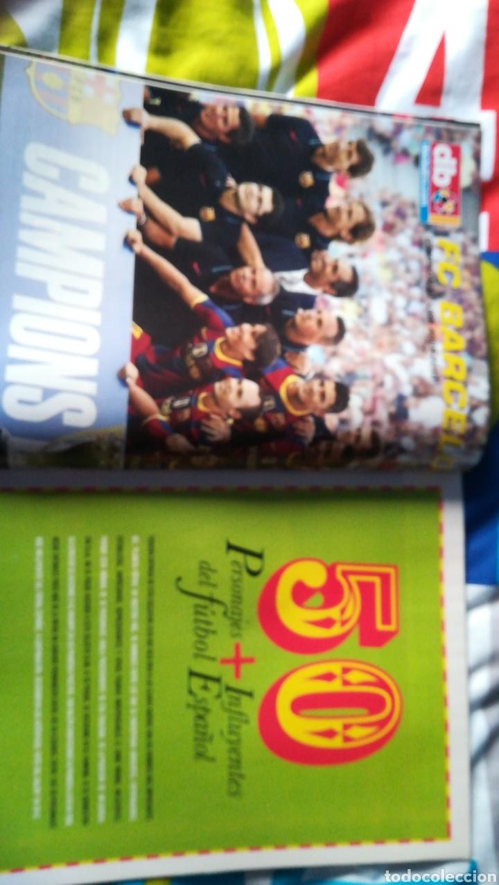 Coleccionismo deportivo: Don balon número 1818 atlético campeón supercopa, póster Barcelona campeón de liga - Foto 2 - 115896538
