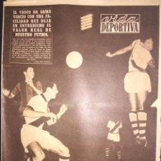 Coleccionismo deportivo: VIDA DEPORTIVA.24/6/1957.FINAL COPA LATINA.R.MADRID,1-BENFICA,0.GOL DE DI STEFANO. Lote 116051079