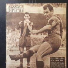 Coleccionismo deportivo: VIDA DEPORTIVA.ABRIL 1960.SEMIFINAL COPA EUROPA.R.MADRID,3-BARCELONA,1. Lote 116580711
