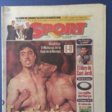 Coleccionismo deportivo: SPORT.23/4/199.SEMIFINAL RECOPA.RCD MALLORCA,1-CHELSEA,0. Lote 116580875