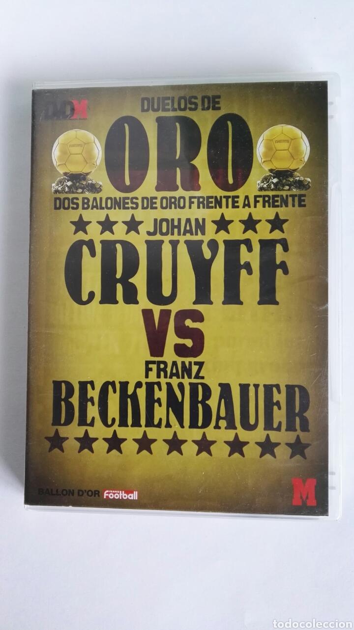 DUELOS DE ORO JOHAN CRUYFF VS FRANZ BECKENBAUER DVD MARCA (Coleccionismo Deportivo - Revistas y Periódicos - Marca)