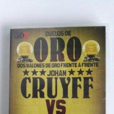 Coleccionismo deportivo: DUELOS DE ORO JOHAN CRUYFF VS FRANZ BECKENBAUER DVD MARCA. Lote 116596427