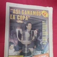 Coleccionismo deportivo: SPORT Nº 572. 21 JUNIO 1981. ASI GANAMOS LA COPA. QUINI: EL AS DE COPAS. Lote 116709031