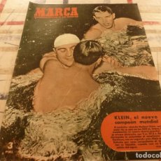 Collezionismo sportivo: MARCA(31-7-51),BOXEO,BEISBOL,EL TOUR,BASKET.REMO,HIPICA,AJEDREZ EN GIJON. Lote 116715075