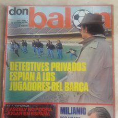 Coleccionismo deportivo: DON BALON N° 9 + PÓSTER REAL MADRID. CRUYFF. Lote 116743272