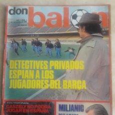 Coleccionismo deportivo - Don balon N° 9 + Póster Real Madrid. Cruyff - 116743272