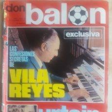 Coleccionismo deportivo: DON BALON N° 10. LEIVINHA. URTAIN. Lote 116744030