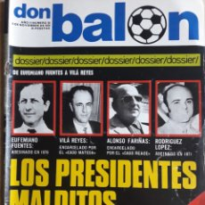 Coleccionismo deportivo: DON BALON N° 58 + PÓSTER SOTIL. F.C. BARCELONA. Lote 116765606