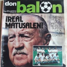 Coleccionismo deportivo: DON BALON N° 60. REAL MADRID. Lote 116766079
