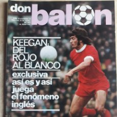 Coleccionismo deportivo: DON BALON N° 78. KEEGAN. JUANITO. ATHLETIC DE BILBAO. Lote 116771487