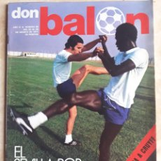 Coleccionismo deportivo: DON BALON N° 98. SEVILLA C.F. CRUYFF. R. MADRID. NIKI LAUDA.. Lote 116779728