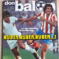 Coleccionismo deportivo: DON BALON N° 100. ATLÉTICO DE MADRID. RUBÉN. Lote 116780243