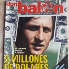 Coleccionismo deportivo: DON BALON N° 108. CRUYFF. Lote 116784767