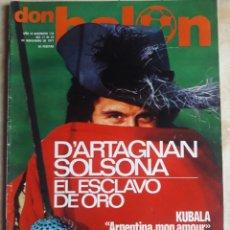 Coleccionismo deportivo: DON BALON N° 110. SOLSONA. KUBALA. Lote 116785588
