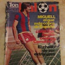 Coleccionismo deportivo: DON BALON N° 147. MIGUELI. CAMACHO. Lote 116794770