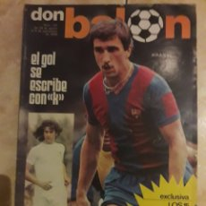 Coleccionismo deportivo: DON BALON N° 151 KRANKL. KEMPES. Lote 116797919