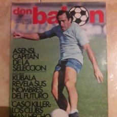 Coleccionismo deportivo: DON BALON N° 155. ASENSI. KUBALA. Lote 116798163